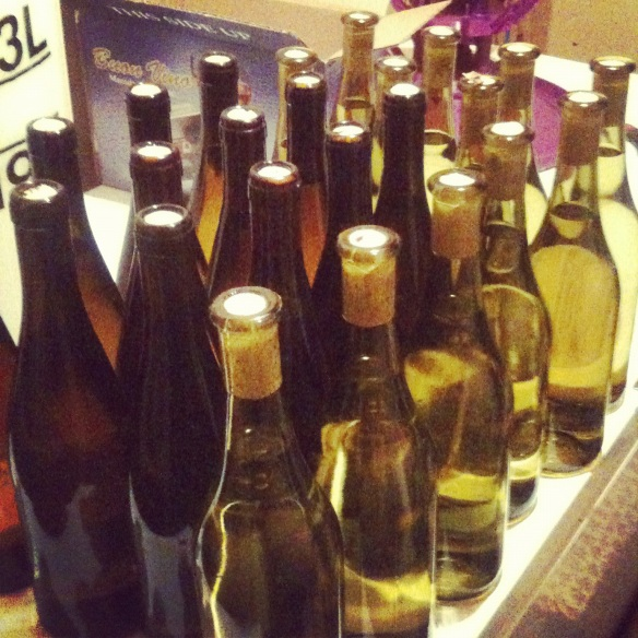 24 bottles of white wine